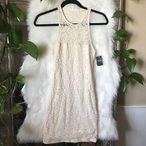 XS NWT Cream crochet dress